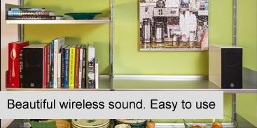 Active wireless speakers
