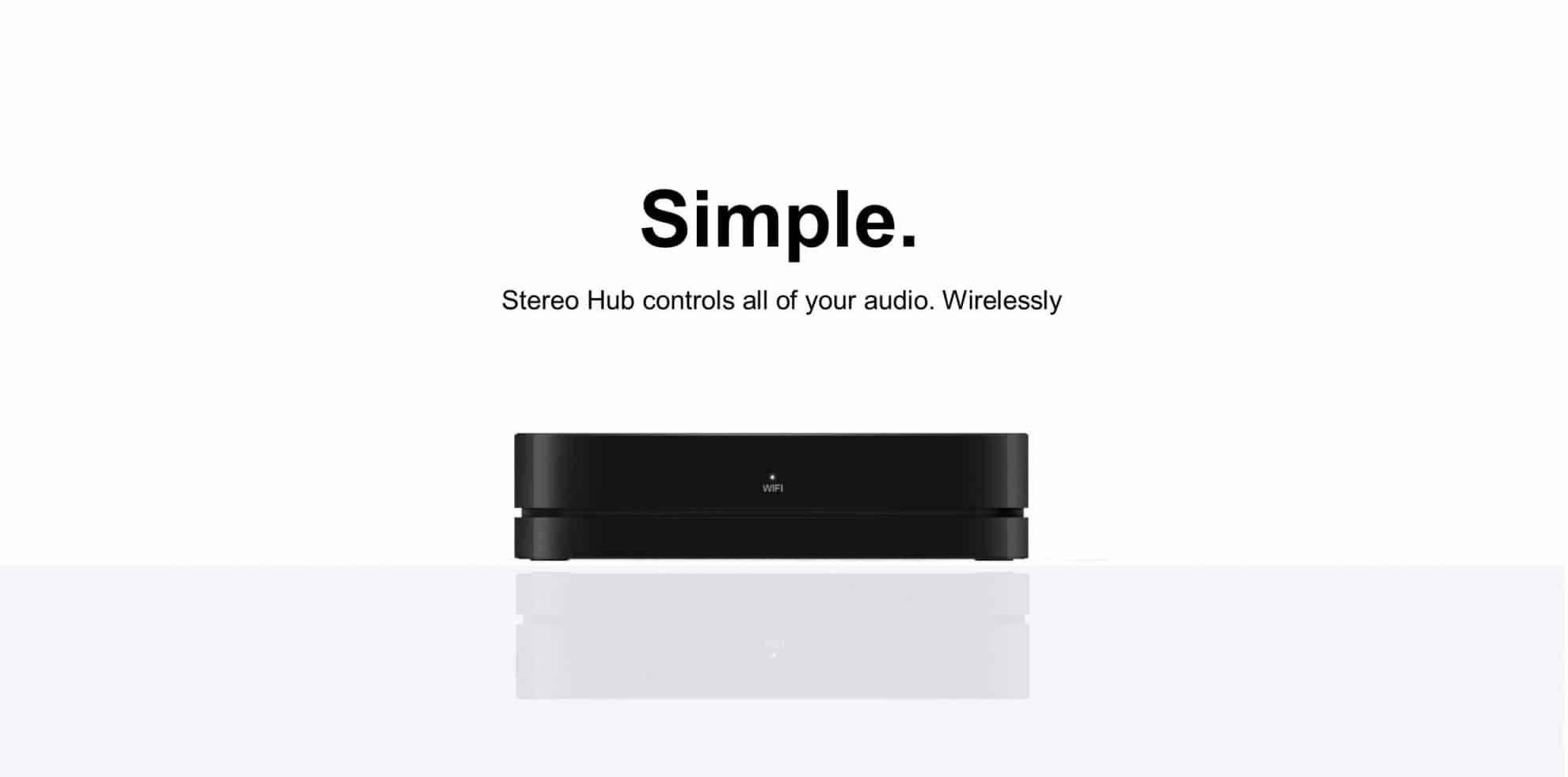Stereo Hub Simple
