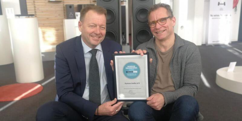 System Audio nomineret til Roskilde Erhvervspris